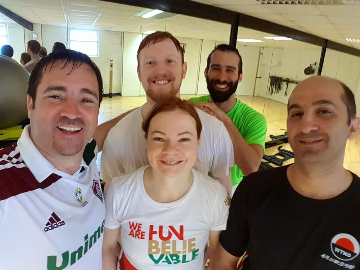 Hombu Dojo Karate International en Dublín. Los entrenos matinales por Fanny Lichtenstein